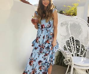 boho, indie, and maxi dress image