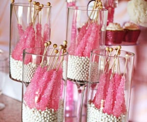 candy, pink, and party image