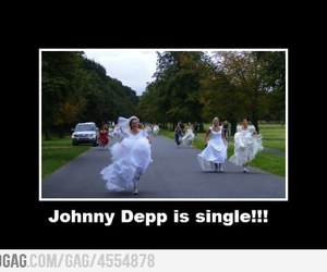 johnny depp, funny, and single image
