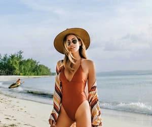 beachwear, fashion, and style image