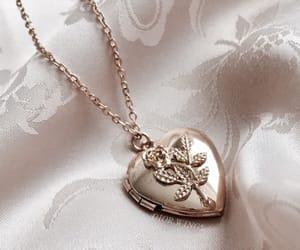 aesthetic, locket, and beautiful image