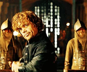 funny, gif, and peter dinklage image