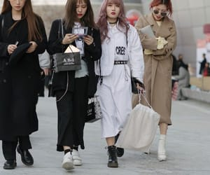 fashion, outfit, and asian image