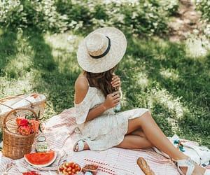 photo and picnic image