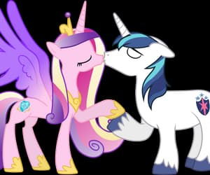kiss, vector, and friendship is magic image