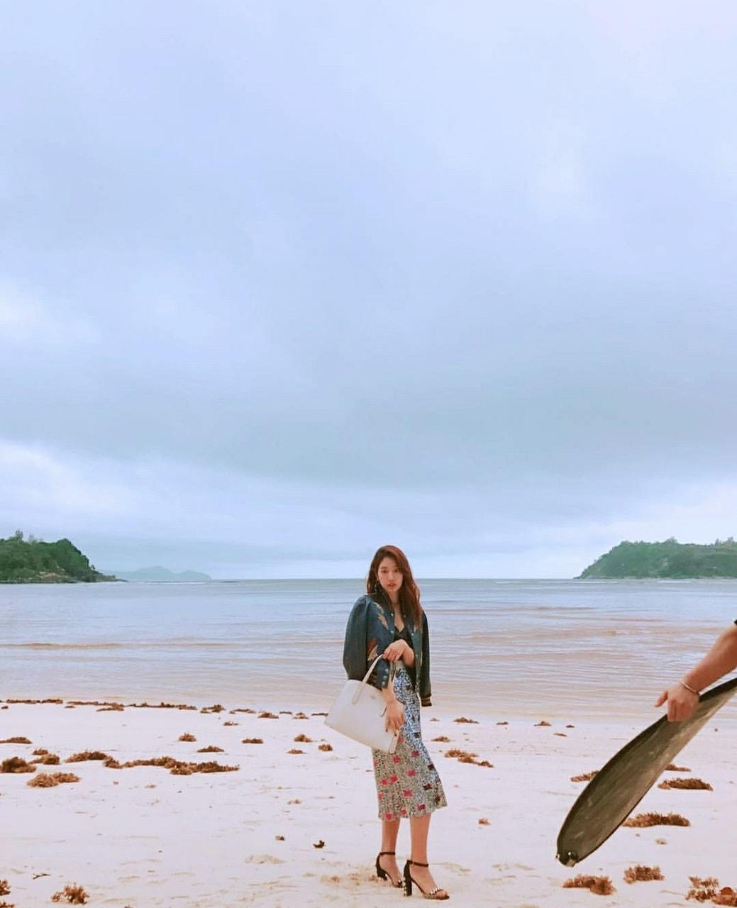 model, kgirl, and park shin hye image