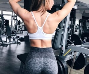 abs, girl, and fitness image