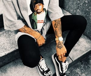 tattoo, supreme, and vans image