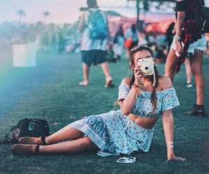 coachella, music festival, and photography image