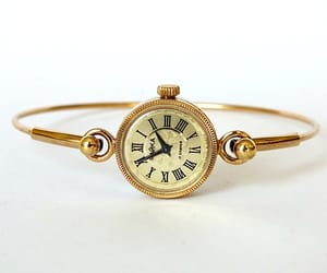 etsy, watch bracelet, and mechanical watch image