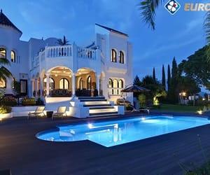 beautiful, house, and luxury image