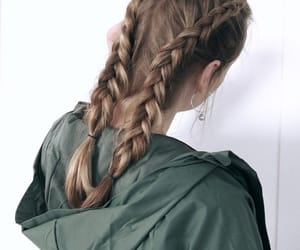 blonde, blondie, and braids image