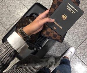passport, travel, and tumblr image