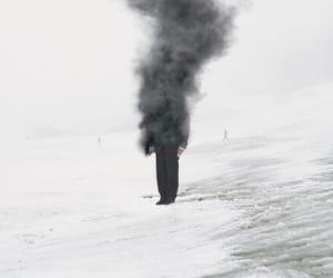 smoke, black, and man image
