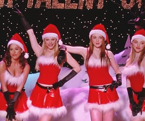 mean girls, christmas, and lindsay lohan image