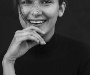 bella hadid, model, and smile image