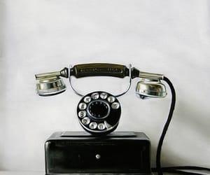 phone and telephone image