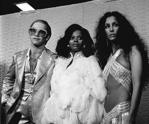 70's, elton john, and cher image