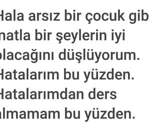 tumblr, sözler, and türkçe image