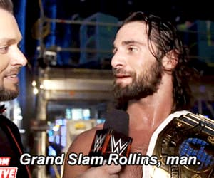 gif, wrestling, and wwe image