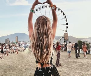 fashion, coachella, and girl image