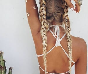 Best, blonde, and braids image