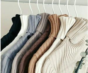 aesthetic, clothing rack, and fashion image