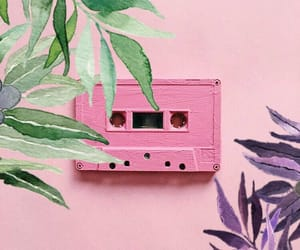aesthetic, green, and mixtape image