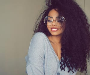 girl, curly, and beauty image