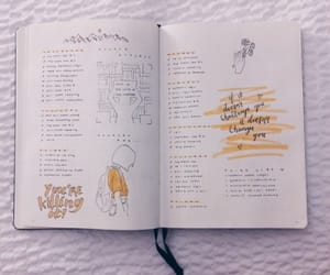 art, handlettering, and bujo image