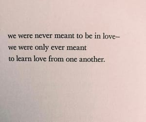 learn, meant to be, and poem image