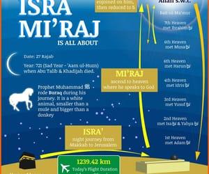 miraj, rajab, and islamic month image