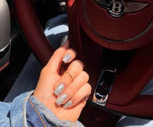 nails, beauty, and car image