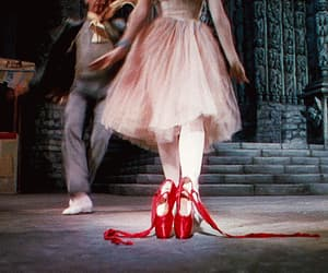 ballet, gif, and red image