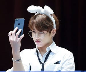 jin, cute, and k-pop image