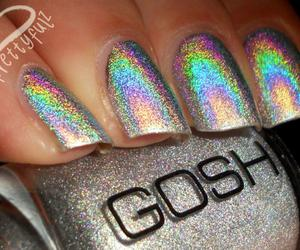 gosh, nails, and glitter image