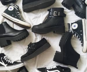 alternative, black, and boots image