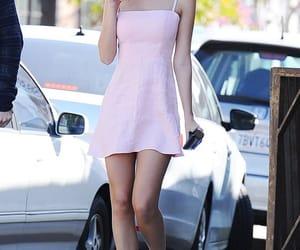 fashion, emily ratajkowski, and pink image