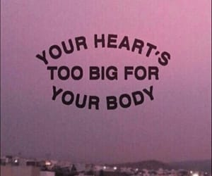 quotes, heart, and body image