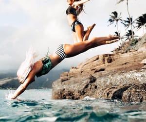 adventure, beach, and best friends image