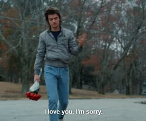 stranger things, quotes, and love image