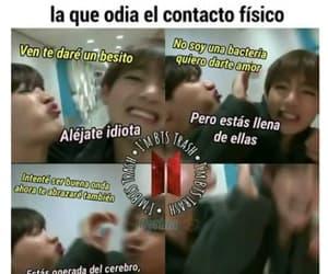 memes, español, and bts image