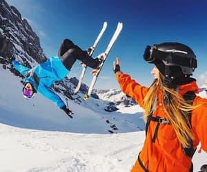 adventure, ski, and travel image