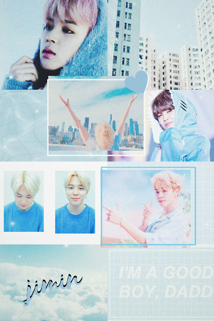 Jimin Collage Wallpaper By Me On We Heart It