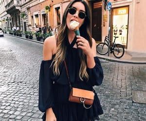 fashion, street, and food image