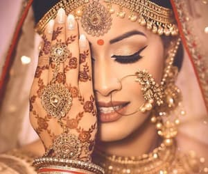 bollywood, dress, and earring image