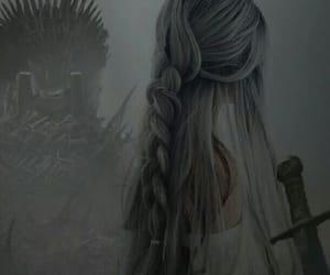 aesthetic, grey, and princess image