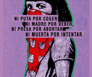 woman, feminismo, and 8m image