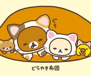cat, korilakkuma, and rilakkuma image