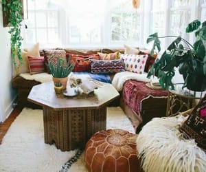 bohemian, bright, and decor image